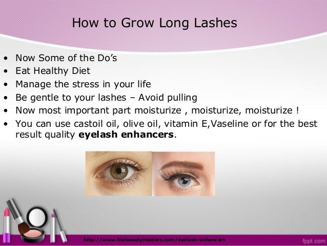 how to grow your eyelashes thicker and longer naturally