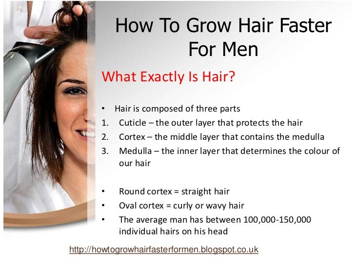 How To Grow Hair Faster For Men