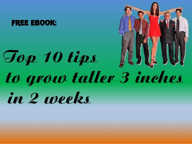 how to grow taller in 2 weeks free