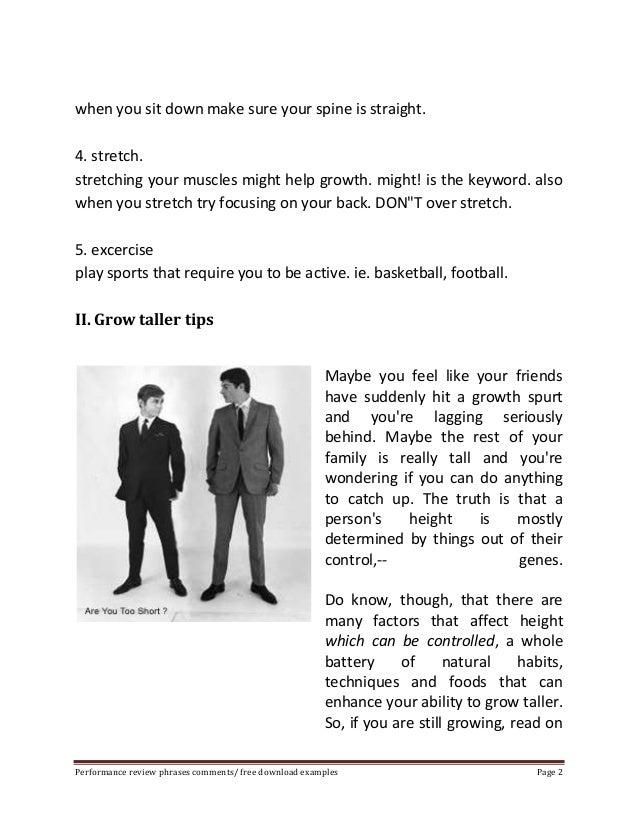 How to grow taller 6 feet Slide 2