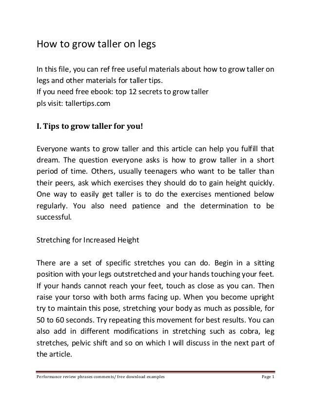 grow taller 4 idiots free download full version pdf