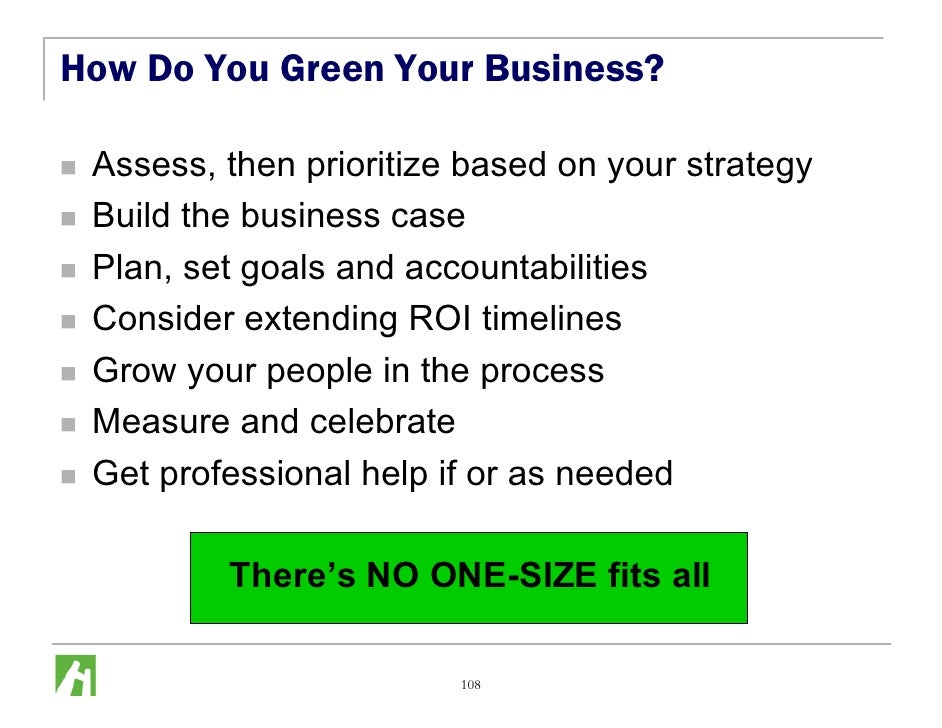 How To Grow Your Business Green