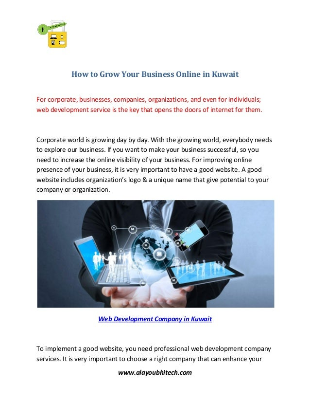 How to grow your business online in kuwait