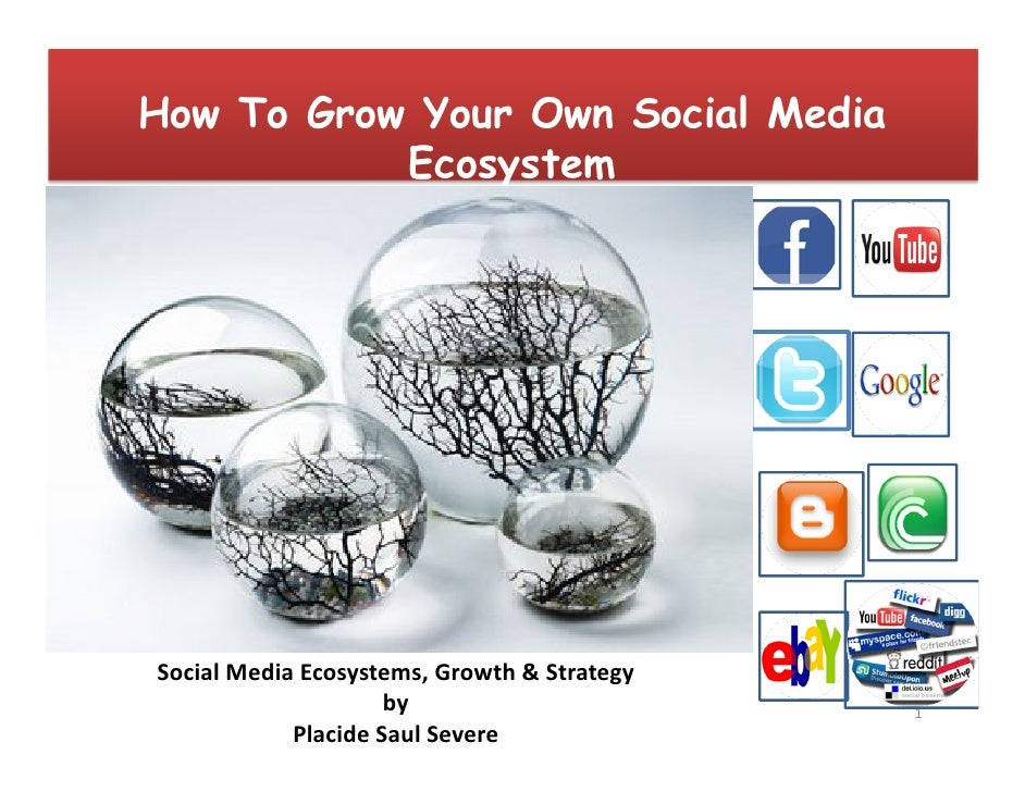 How To Grow Your Own Social Media            Ecosystem     Social Media Ecosystems, Growth & Strategy                     ...