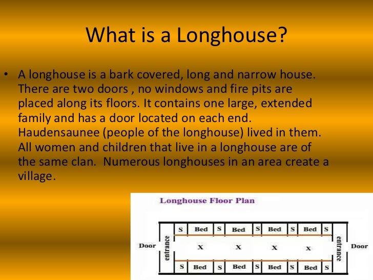 How to build a longhouse for First step to building a house