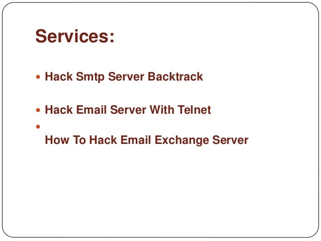 How to hack smtp email server how to hack smtp email server 3 ccuart Gallery