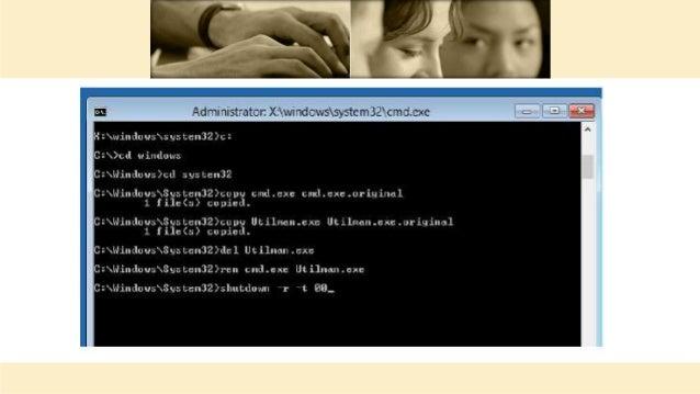 how to hack admin password in windows 8