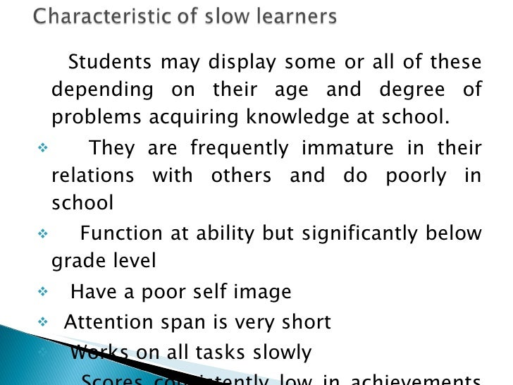 10 Tips to Teach and Improve Slow Learners