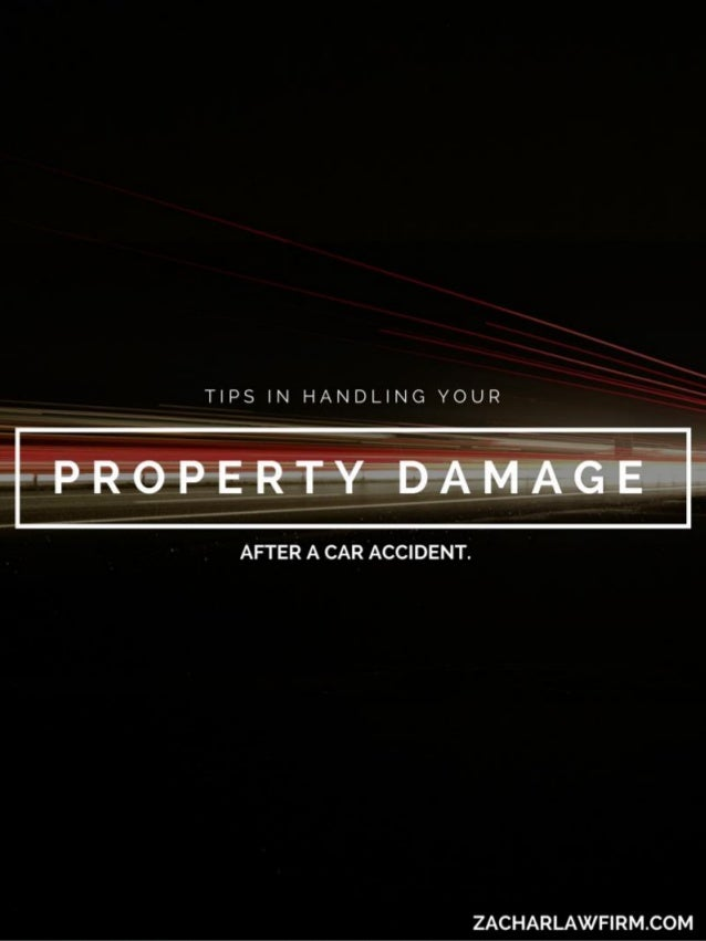 Involved in an accident, and not sure how to handle the property damage claim? The following instructions may help you und...