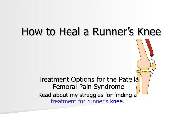 How to Heal a Runner's Knee