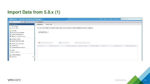 Import Data from 5.8.x (1) CONFIDENTIAL 51