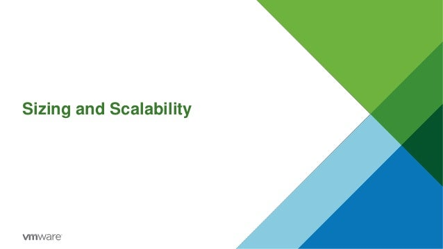Sizing and Scalability