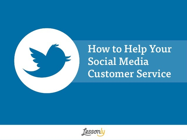 How to Help Your Social Media Customer Service