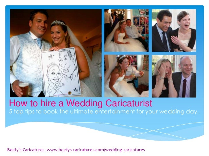 How to hire a Wedding Caricaturist5 top tips to book the ultimate entertainment for your wedding day.Beefy's Caricatures: ...