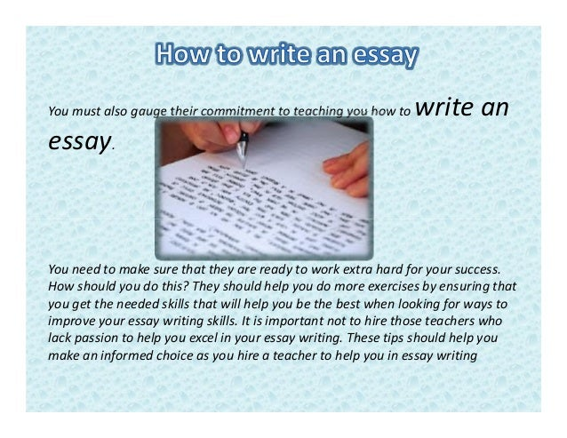 how to write an essay about a mentor A descriptive essay on an influential person can be about someone who has had a positive or negative impact on your life this person can be a teacher, a coach, a family member, a friend, an employer, a political figure, a historical figure or even a fictional character the key element of writing.