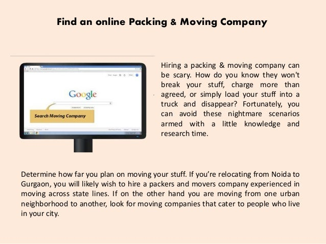 how to hire a packing 2 - How To Hire A Moving Company
