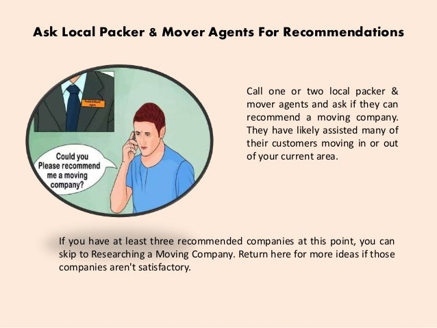 4 - How To Hire A Moving Company