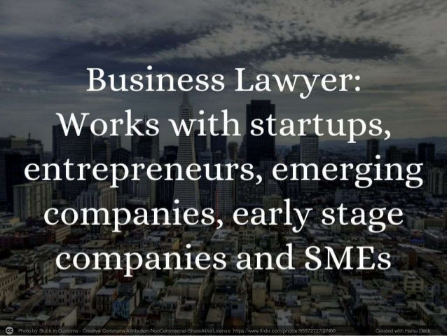 How to Hire a Startup Lawyer - Ultimate Guide to Understand Startup Laws Slide 2