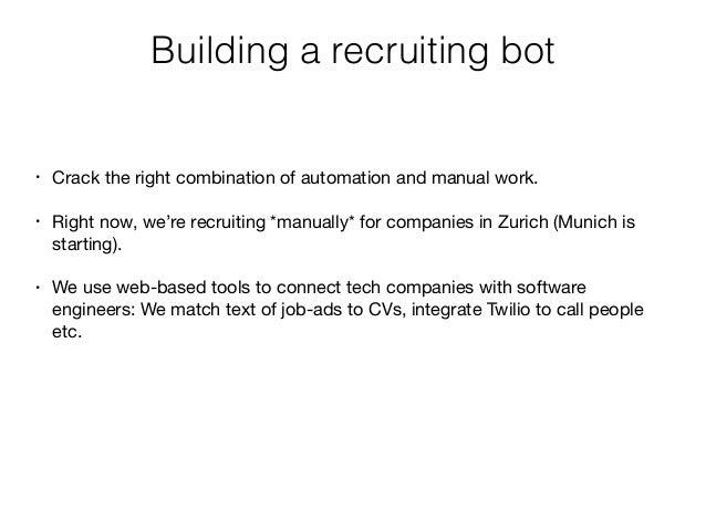 Interactive session: How to hire fronted engineers? iwan@gulenko.ch @iwangulenko