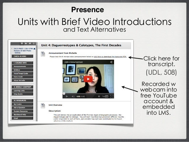 Asynchronous Voice/Video Interactions Link is included in the Goody Bag: http://tiny.cc/humanize