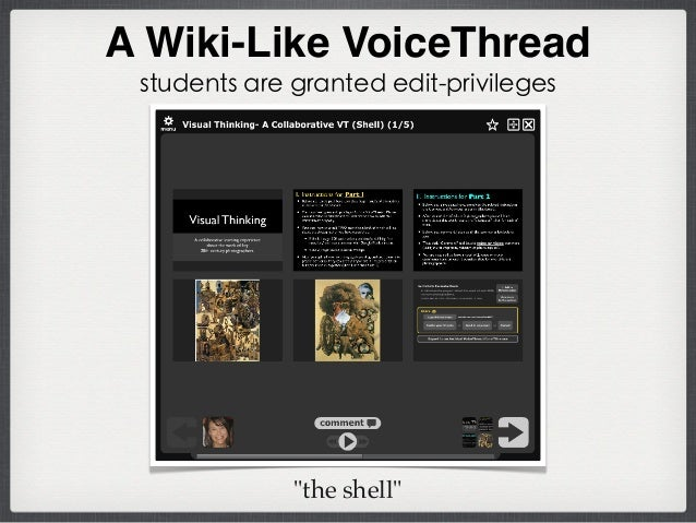 94% strongly agreed or agreed The VoiceThread activities helped me feel more connected to my instructor. Student Survey Re...