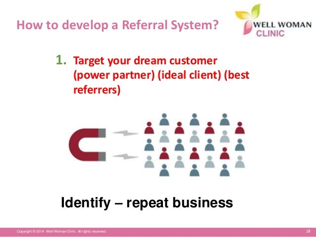 how to ask client for business referrals