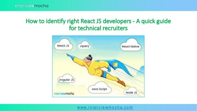 How to identify right react js developers a quick guide for
