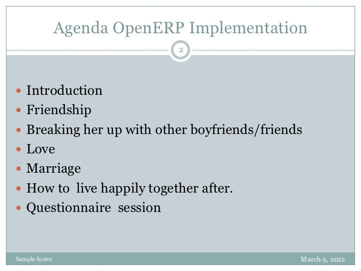 How to  implementation open erp pdf Slide 2