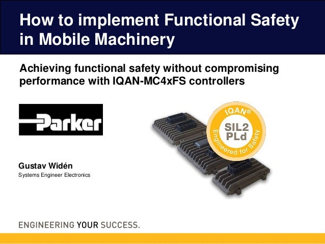 Achieving functional safety without compromising performance with IQAN-MC4xFS controllers How to implement Functional Safe...