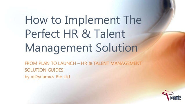 Adult talent management