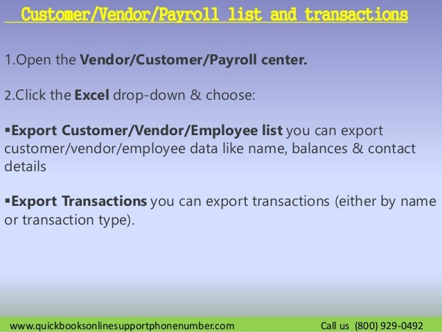 How to Import or Export Excel Files in QuickBooks?