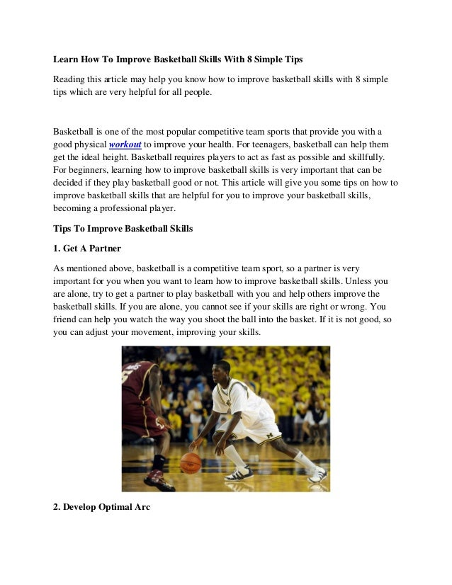 Basketball Skills, Activities & Safety - Video & Lesson ...