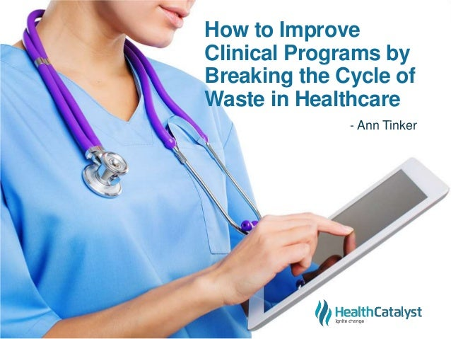How to Improve Clinical Programs by Breaking the Cycle of Waste in Healthcare - Ann Tinker