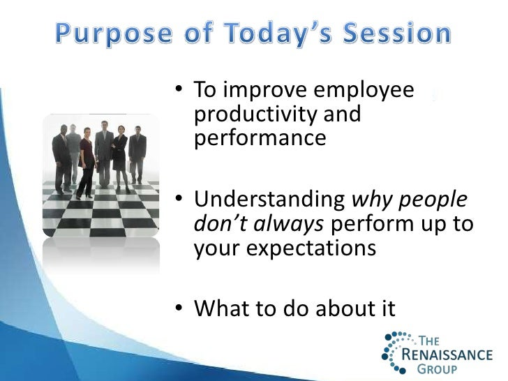 how to increase job performance If your employees have differing levels of productivity and timeliness, you'll need to know how to phrase your employee appraisals in order for the written feedback on your evaluations to have a long-lasting impact, you need to focus on the individual performance factors that determine the quality and quantity of your employees' work.