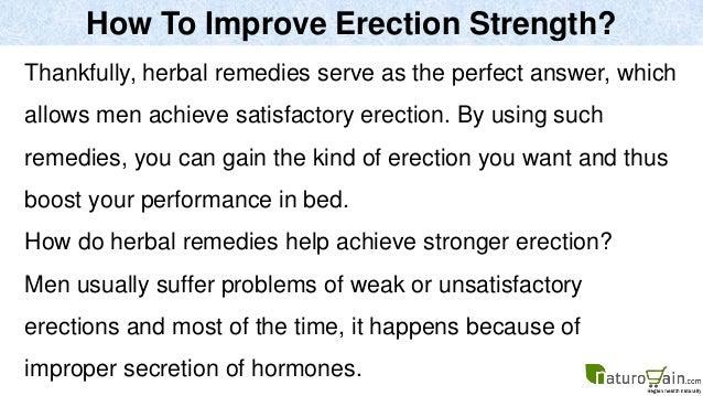 ways to get a harder erection