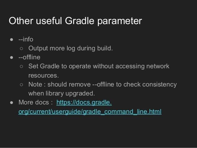 How to improve gradle build speed