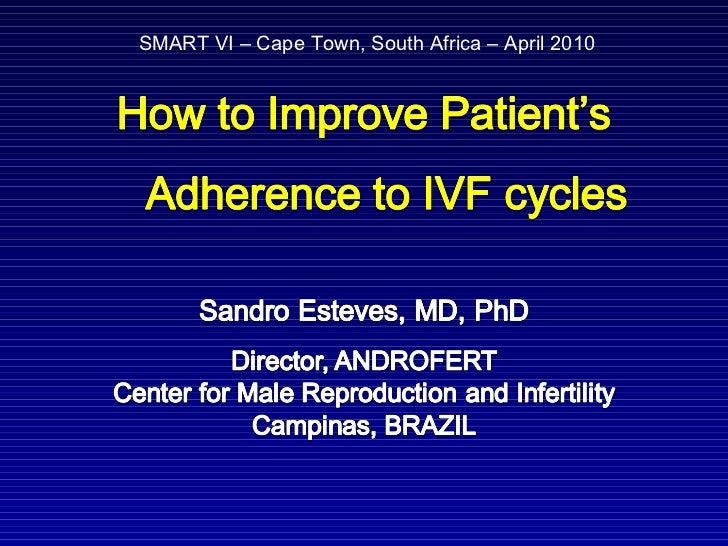 SMART VI – Cape Town, South Africa – April 2010