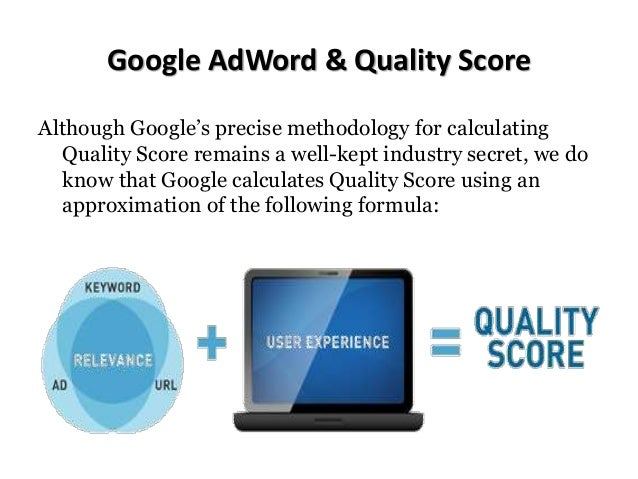 IN THE FOLLOWING FIGURE, YOU'LL SEE THAT ADVERTISER I CAN ACHIEVE A HIGHER AD POSITION, DUE TO THEIR HIGHER QUALITY SCORE,...