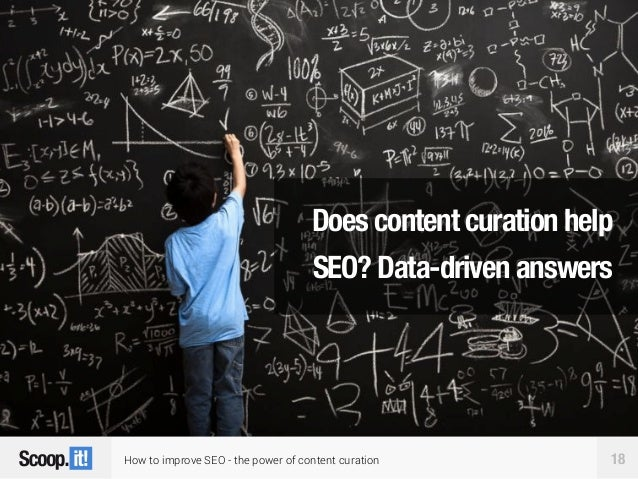 How to improve SEO - the power of content curation 18 Does content curation help SEO? Data-driven answers