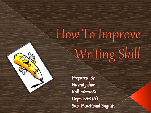 Ways to improve academic writing skills