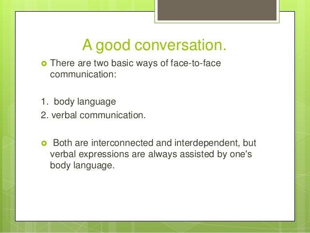 Ways to improve conversation skills