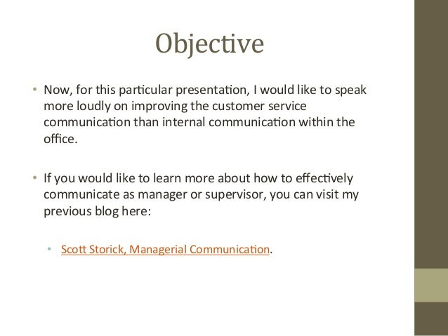 How to Improve your Customer Service Skills by Scott Storick