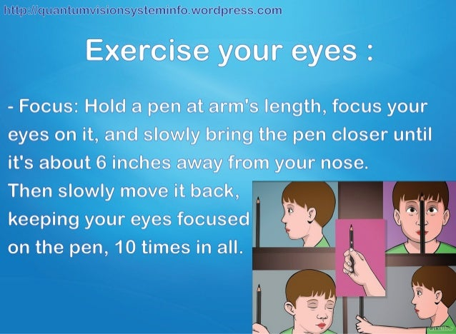 Ways To Get   Vision Naturally