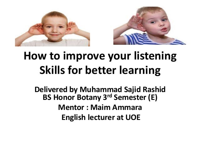 the importance of listening skills in the History of teaching listening comprehension though one of the most important but also most difficult skills a second language (l2) learner must master to succeed in academic studies, l2 listening comprehension has not received the research attention it deserves (jung, 2003, thompson .