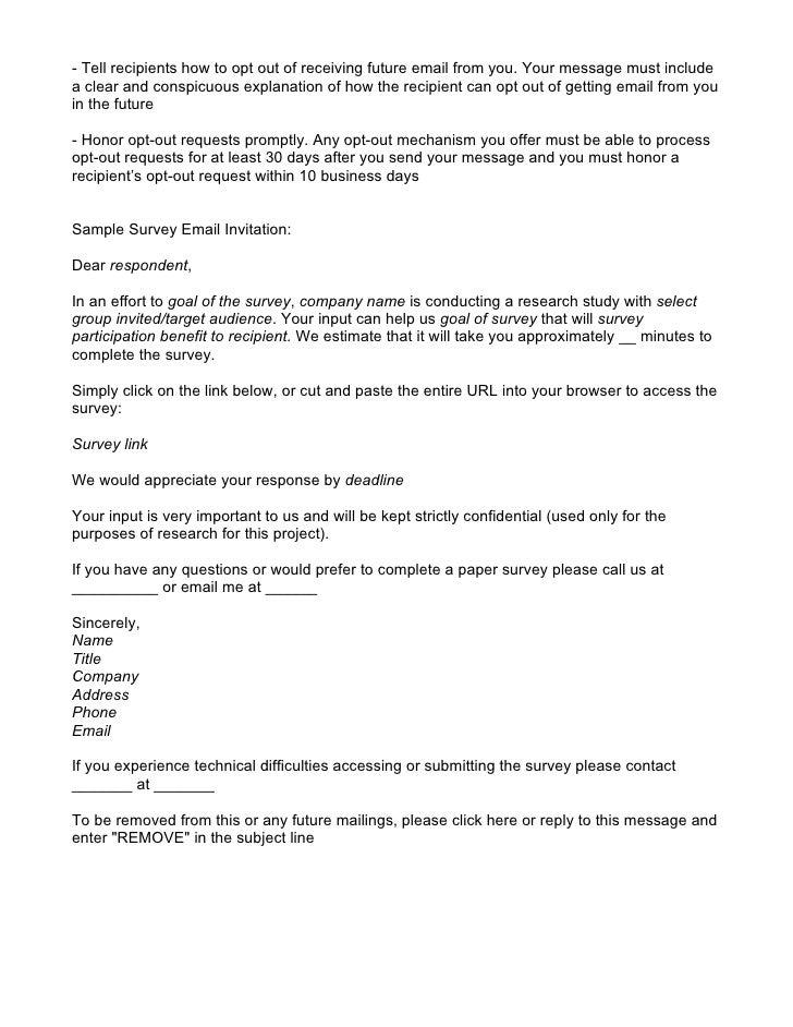 Survey email invitation template diabetesmangfo how to improve your survey invitations invitation templates stopboris Gallery