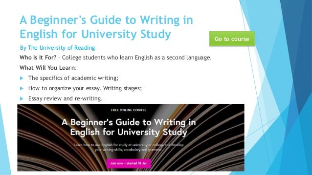 learn essay writing free online