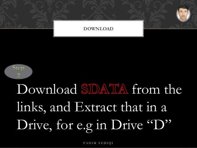 descargar sdata tool 64gb para pc