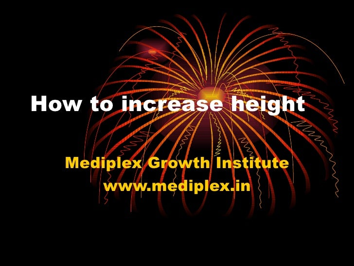 How to increase height Mediplex Growth Institute www.mediplex.in
