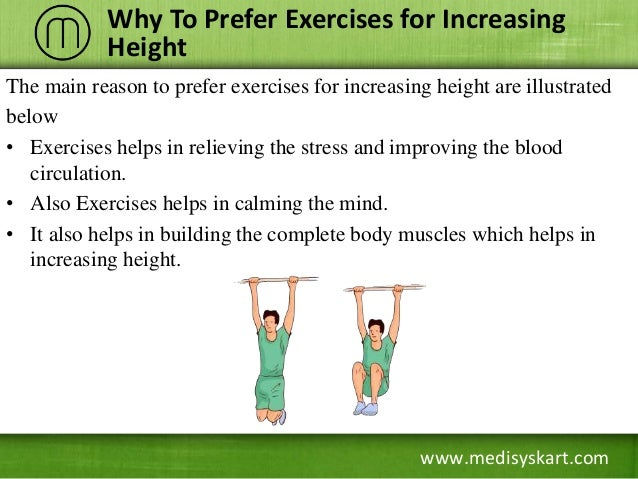 How to increase height with exercises