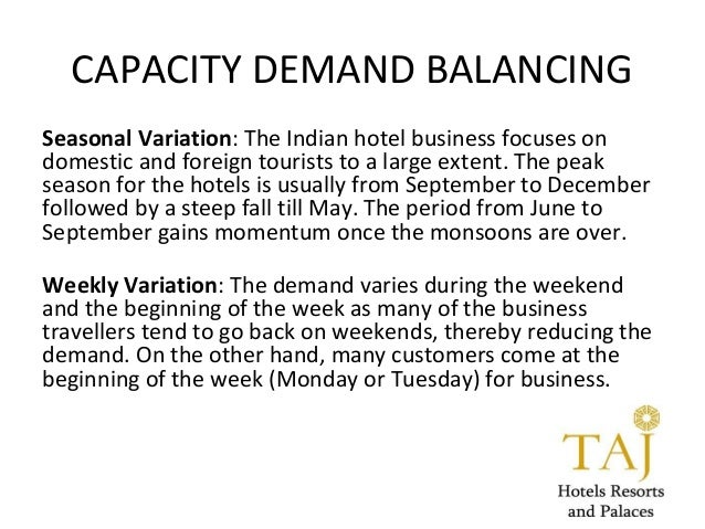 market share of taj hotels